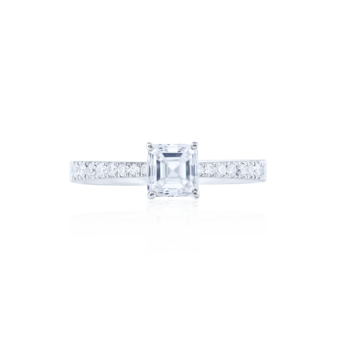 GIA 0.62克拉 白鑽戒