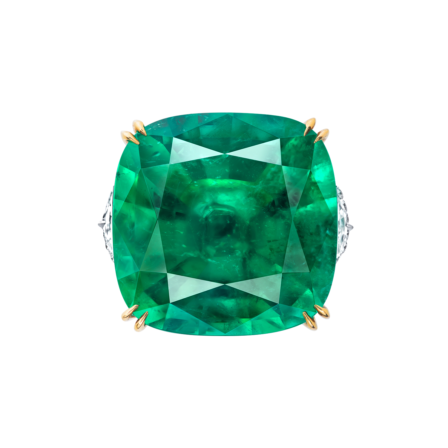 27.23克拉 哥倫比亞艷彩祖母綠鑽戒