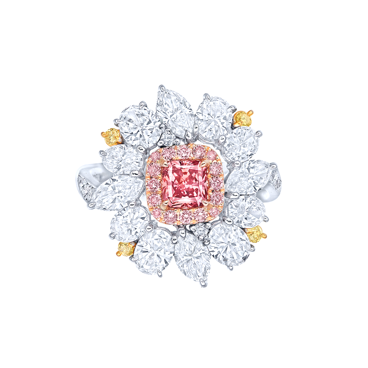 阿蓋爾粉鑽鑽戒 0.48克拉