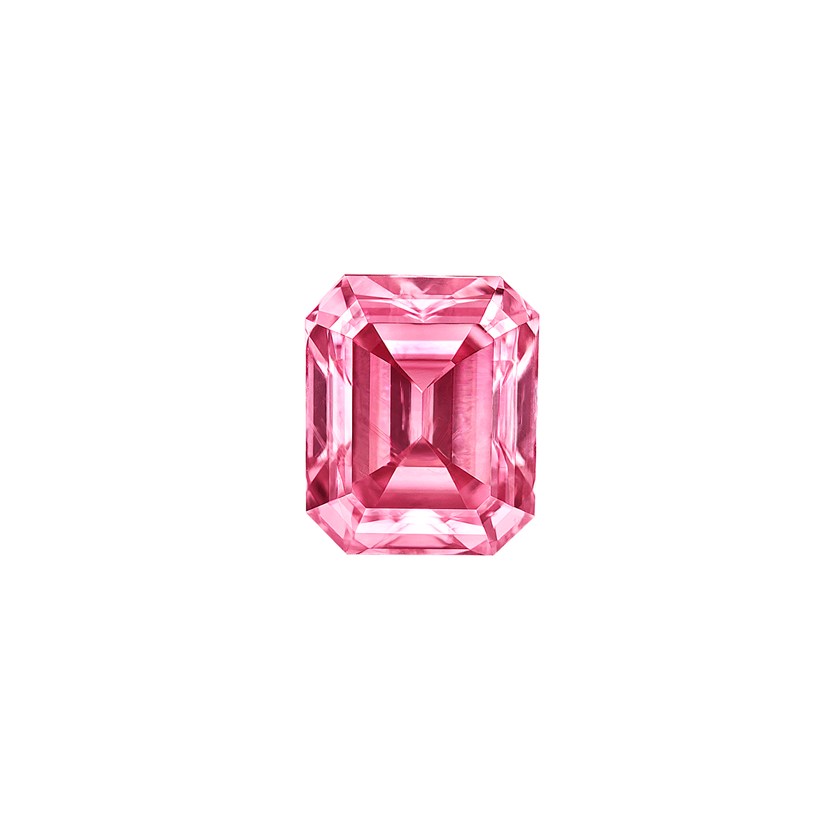 阿蓋爾濃彩粉鑽裸石