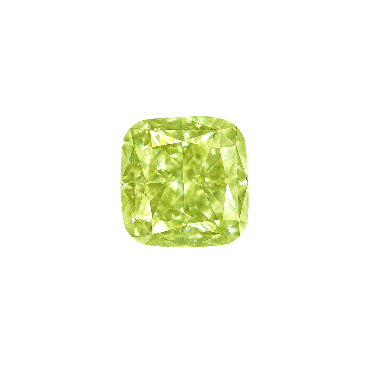 GIA 1.06 克拉 黃綠鑽裸石