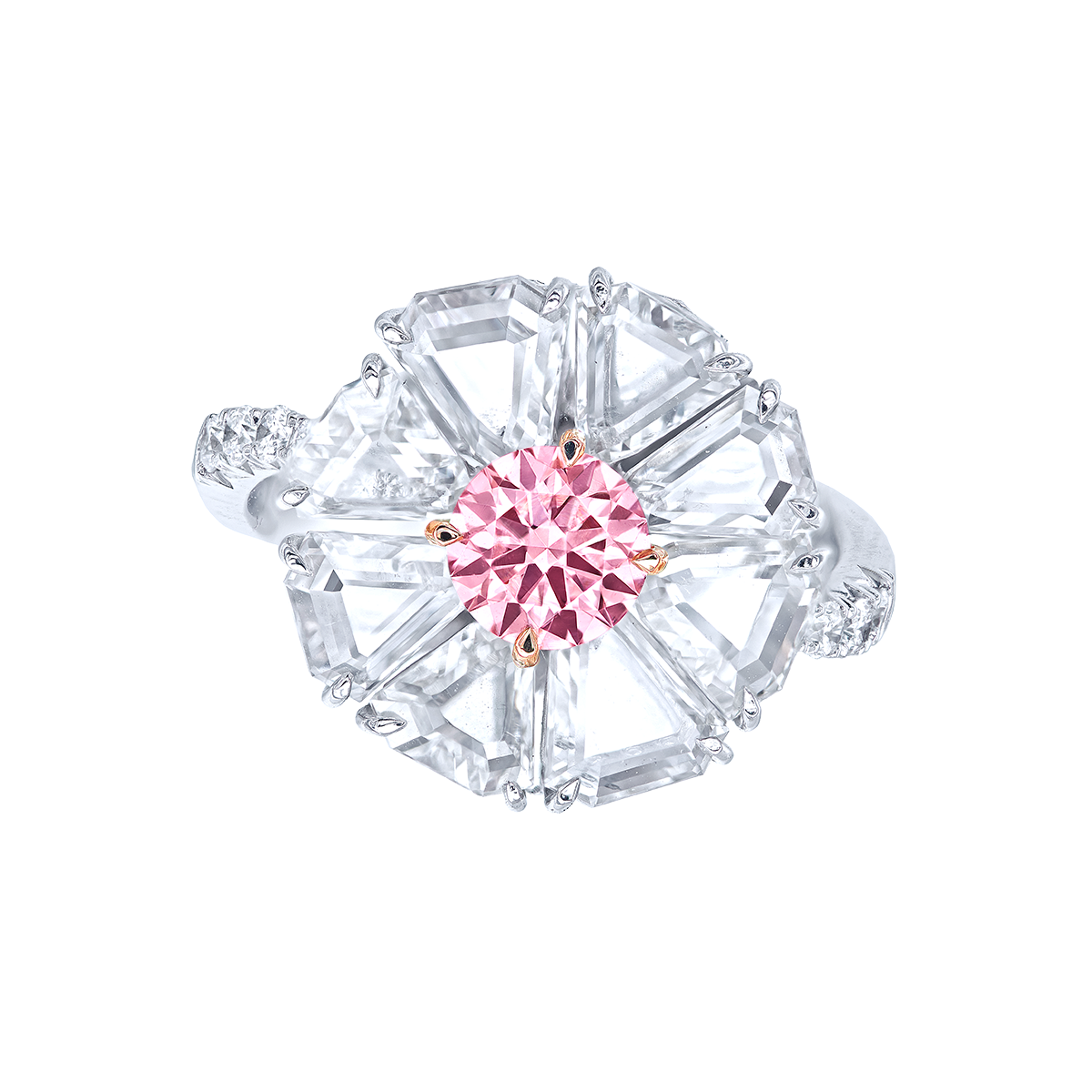 0.69克拉 阿蓋爾粉鑽鑽戒